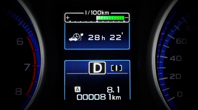 Legacy LCD Meter Centre Display