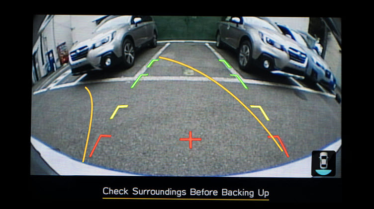 Legacy Rear View Camera